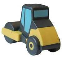 Picture of STRESS STEAM ROLLER in Black & Yellow