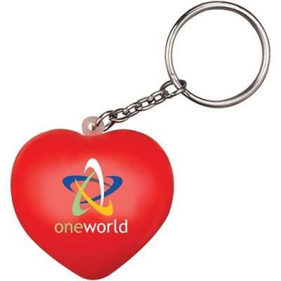 Picture of STRESS LOVE HEART KEYRING
