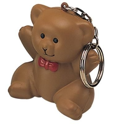 Picture of STRESS TEDDY BEAR KEYRING