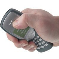 Picture of STRESS MOBILE PHONE in Grey & Silver