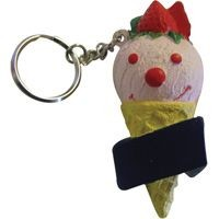 Picture of STRESS ICE CREAM KEYRING
