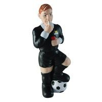Picture of STRESS FOOTBALL REFEREE MAN in Black