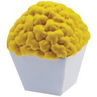 Picture of STRESS POPCORN in White & Yellow