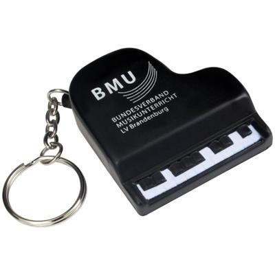 Picture of STRESS PIANO KEYRING in Black