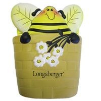 Picture of STRESS HONEY POT in Yellow & Black