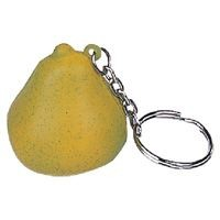 Picture of STRESS PEAR KEYRING in Green