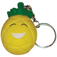 Picture of STRESS PINEAPPLE KEYRING in Yellow