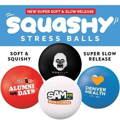 Picture of PREMIUM SQUASHY 70MM STRESS BALL