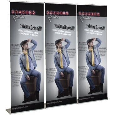 Picture of MID RANGE BANNER STAND