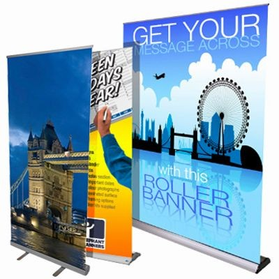 Picture of PULL UP ROLLER BANNER