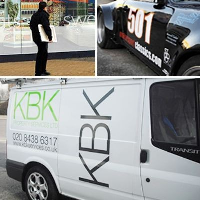 Picture of VINYL GRAPHICS AND LETTERING