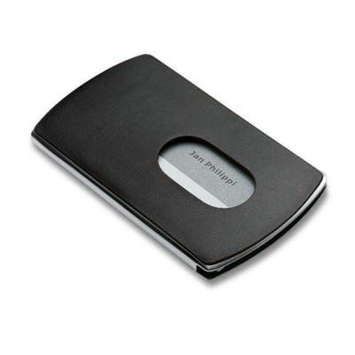 Picture of PHILIPPI NIC POCKET METAL BUSINESS CARD HOLDER in Black
