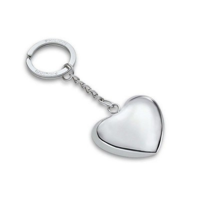 Picture of PHILIPPI KLANGHERZ HEART SHAPE KEYRING in Silver