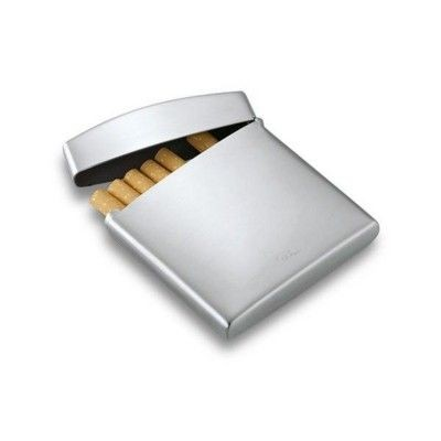 Picture of PHILIPPI CUSHION CIGARETTE HOLDER CASE in Silver Finish