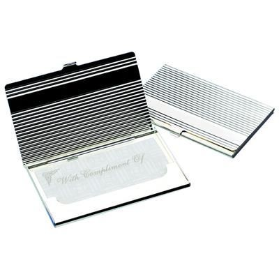 Picture of LINEAR BUSINESS CARD HOLDER
