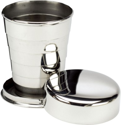 Picture of COLLAPSIBLE WHISKY DRAM CUP in Stainless Steel Metal