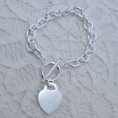 Picture of ARCAS SILVER PLATED METAL CHAIN BRACELET