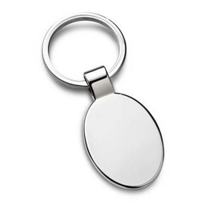 Picture of OVAL KEYRING 40MM X 28MM with Loop Fitting
