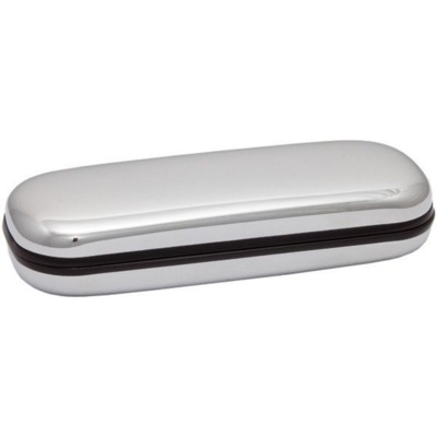 Picture of SILVER FINISH SILVER CHROME PEN BOX PRESENTATION CASE