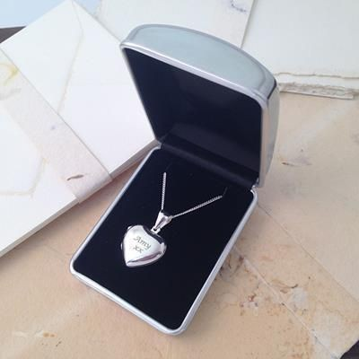 Picture of HALLMARKED 925 STERLING SILVER LOCKET with Chain