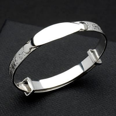 Picture of HALLMARKED 925 STERLING SILVER BABY BANGLE