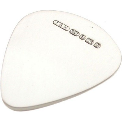 Picture of 925 HALLMARKED STERLING SILVER METAL GUITAR PLECTRUM