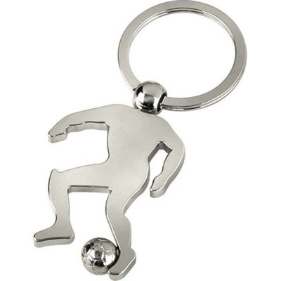 Picture of FOOTBALLER KEYRING in Silver Finish