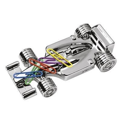 Picture of MAGNETIC F1 CAR PAPERWEIGHT in Silver Chrome Plated Silver Finish