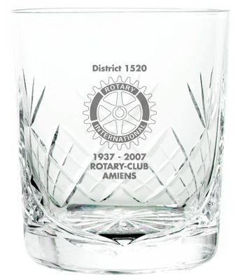 Picture of CUT HEAVY CRYSTAL GLASS TUMBLER