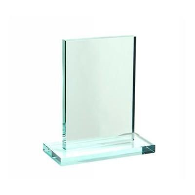 Picture of SMALL JADE GREEN RECTANGULAR TROPHY AWARD CUBE BLOCK