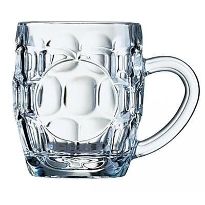 Picture of BRITTANIA OLD FASHIONED HALF BEER TANKARD with Panel