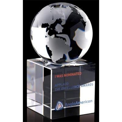 Picture of 60MM CRYSTAL GLOBE AWARD