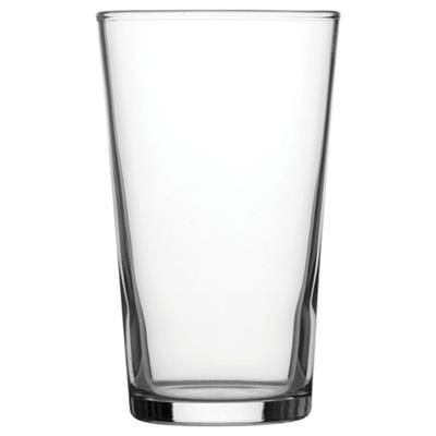 Picture of BULK PACKED CONICAL HALF PINT GLASS
