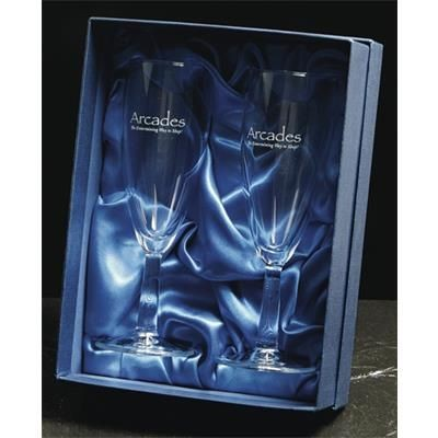 Picture of PAIR OF BUDGET CHAMPAGNE FLUTE GLASSES