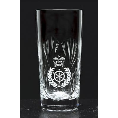 Picture of HEAVY CUT CRYSTAL HIGHBALL GLASS