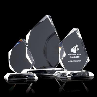 Picture of MEDIUM OPTICAL CRYSTAL TROPHY AWARD PRISM
