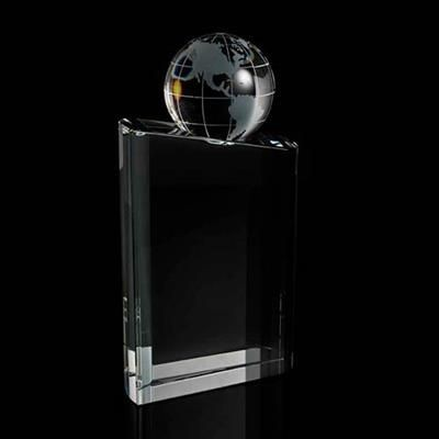 Picture of MOUNTED CRYSTAL GLOBE