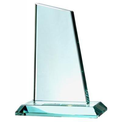 Picture of JADE GREEN GLASS MEDIUM PEAK TROPHY AWARD