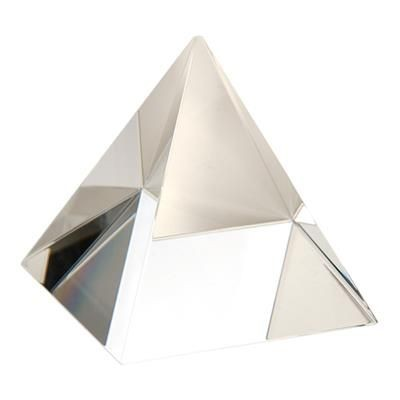 Picture of 60MM OPTICAL CRYSTAL PYRAMID, SUPPLIED in Satin Lined Box