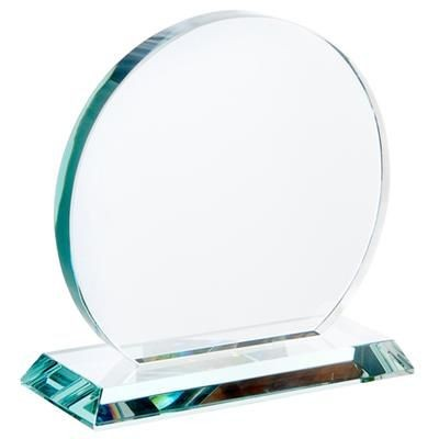 Picture of MEDIUM JADE GREEN TROPHY AWARD CIRCLE