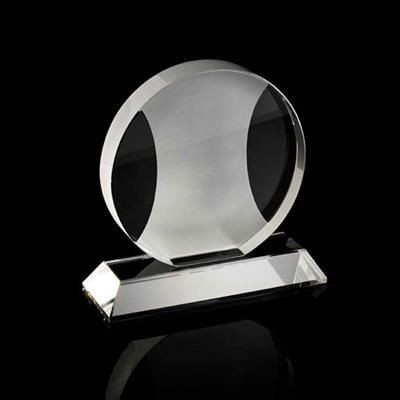 Picture of CHUNKY CRYSTAL ROUND AWARD with Sandblast Central Design