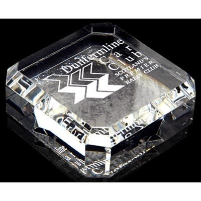 Picture of OPTICAL CRYSTAL SQUARE PAPERWEIGHT