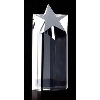 Picture of OPTICAL CRYSTAL STAR COLUMN AWARD