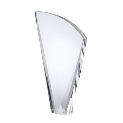 Picture of MEDIUM OPTICAL CRYSTAL HARP SHAPE MODERN AWARD