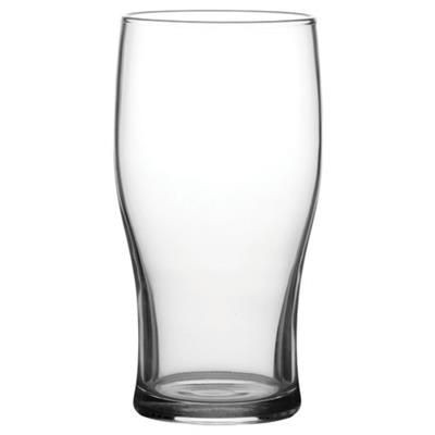 Picture of BULK PACKED TULIP HALF PINT GLASS