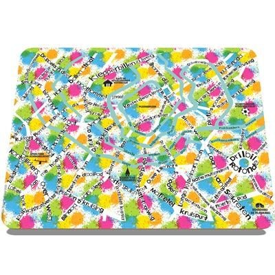 Picture of MELAMINE RECTANGULAR EURO TABLE PLACE MAT