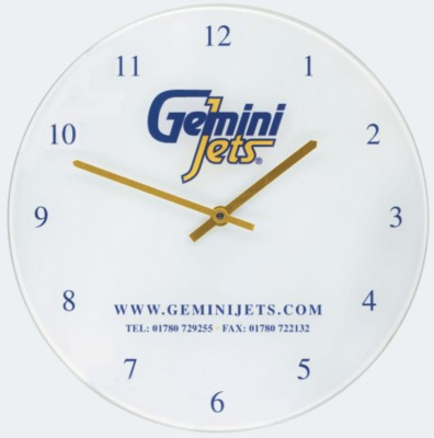 Picture of RECYCLED GLASS WALL CLOCK