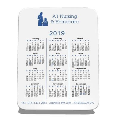 Picture of MELAMINE CALENDAR COASTER