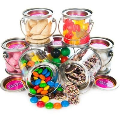 Picture of MINI PAINT RETRO SWEETS BUCKET