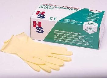 Picture of NON POWDERED LATEX GLOVES